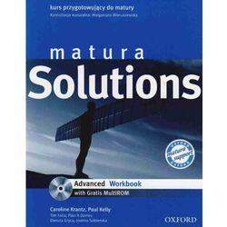 Matura solutions advanced Workbook + Cd (opr. miękka)