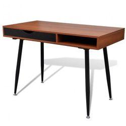 Brązowe biurko pod komputer Zapisz się do naszego Newslettera i odbierz voucher 20 PLN na zakupy w VidaXL!