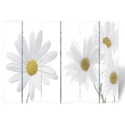 vidaXL Parawan/dzielnik pokojowy w kwiaty (240 x 180 cm) Darmowa wysyłka i zwroty