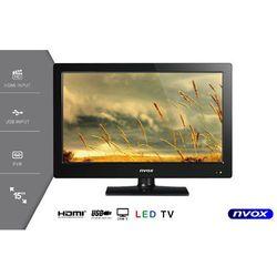 """Telewizor LED 15"""" USB HDMI VGA DVB-T MPEG-4/2 12V 230V"""