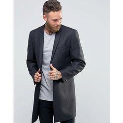 Hart Hollywood by Nick Hart 1B Check Overcoat - Grey