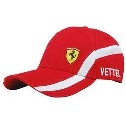 Czapka baseballowa Sebastian Vettel Scuderia Ferrari F1 2015