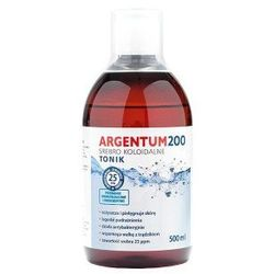 Tonik Argentum200 Srebro Koloidalne 25 ppm (500 ml) Aura Herbals