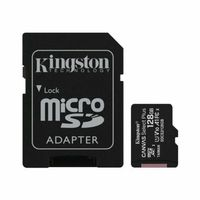 Karta pamięci Kingston Canvas Select Plus SDCS2/128GB + Adapter