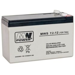 Akumulator MW Power MWS 7,2-12 (12V 7200mAh)- wysyłamy do 18:30